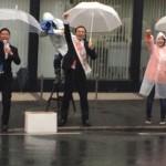 福岡市議会議員選挙_活動の様子(1日目)