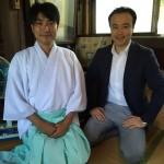 宇賀神社での夏越祭に参加!