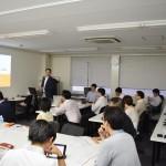 プレゼンテーションの技術について講義!