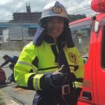 久し振りの消防訓練!