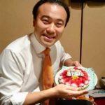 40歳の誕生日会、学生たちに感謝!