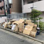 古紙回収日に「燃えないゴミ」は出せません!(2020年5月28日)